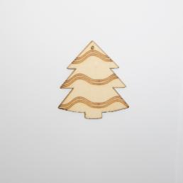 ξύλινο δεντράκι για στολισμούς