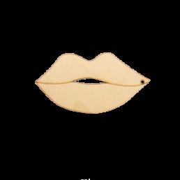 ξύλινα χείλη για στολισμούς